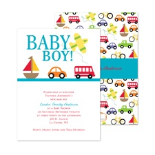 On the Move Baby Shower Invitation