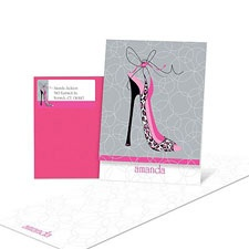 High Fashion Note Card
