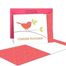 Birds of a Feather Note Card