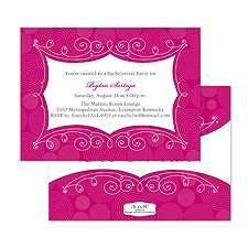 Filigree Fantasy Bachelorette Party Invitation