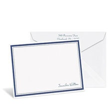 Bright Border White Note Card