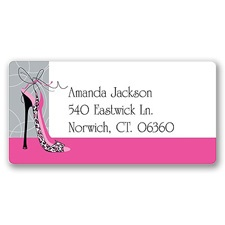 High Fashion Address Label