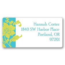 Floral Appeal Address Label