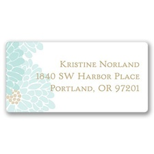 Garden Fresh Address Label