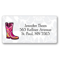 Puddle Jumping Address Label