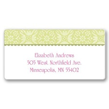 Blossoming Friendship Address Label