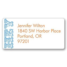 Saying Hello Address Label