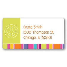 Sweet Peace Address Label