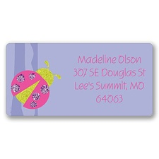 Cute as a Bug  Address Label
