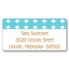 Geometrics Graduation Address Label