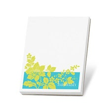 Floral Appeal Note Pad
