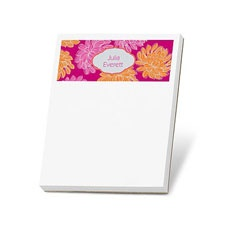 Beautiful Blooms Note Pad