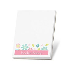 Flower Power Note Pad