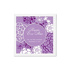 Rustic Flowers Ooh La Color Cocktail Napkins - Grapevine