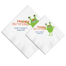 Far Out Ooh La Color Napkins