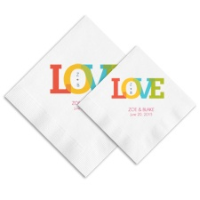 Color of Love Ooh La Color Napkins