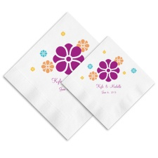 Flower Children Ooh La Color Napkins