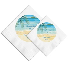 At the Beach Ooh La Color Napkins