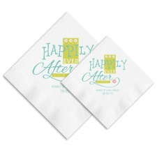 Happily Ever After Ooh La Color Napkins