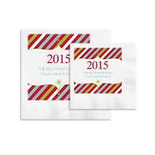 Stylish Stripes Ooh La Color Napkins