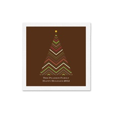 Chevron Tree Ooh La Color Cocktail Napkins