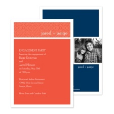 Bright Style Photo Engagement Party Invitation