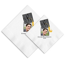 Hats Off Photo Ooh La Color Napkins