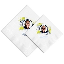 Splash Photo Ooh La Color Napkins - Margarita