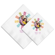 Color Wheel Ooh La Color Napkins