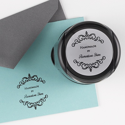 Custom Address Stamp - Handmade