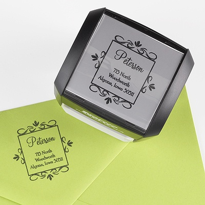 Custom Address Stamp - Square Frame