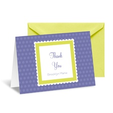 Bright Dots Thank You Card