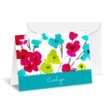 Blooming Bright Note Card and Envelope