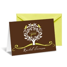 Treetop Note Card and Envelope - Margarita