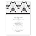 Alluring Arches - Black - Invitation
