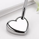 Blank Silver Heart Pen Set