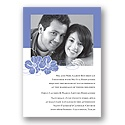 Perfect Pair - Hydrangea - Photo Invitation