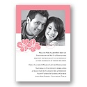 Perfect Pair - Petal - Photo Invitation