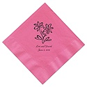Pretty Pink Beverage Napkin