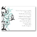 Floral Edge - Aquarium Invitation