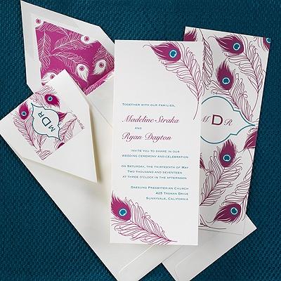 Brilliance invitation wedding invitations carlson for Carlson craft invitations discount