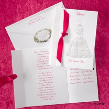 Pearl Embellished Belle - Invitation