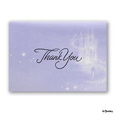 Magical Ride - Thank You Card with Verse and Envelope