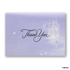 Magical Ride - Thank You Card and Envelope