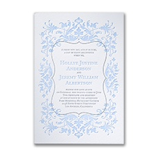 Extravagant Floral - Invitation