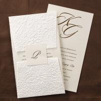 Legend Invitation with Wrap Wedding