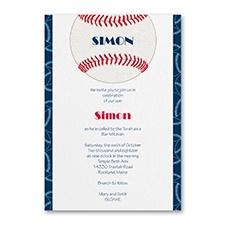 Sports Star - Baseball - Invitation