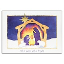 Away in the Manger Card