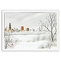 City Snowfall, Chicago Card