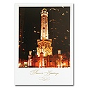 Chicago Water Tower Card